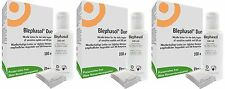 3x Blephasol Duo Lotion 100ml bottle + cotton 100 pads for Blepharitis Thea