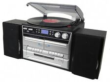 DENVER MRD-165 DAB+ Musik-Center mit Plattenspieler und CD-Player