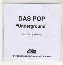 (GD28) Das Pop, Underground - 2008 DJ CD