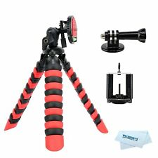 Willoughby's 2 in 1 Flexible Mini Tripod for DSLR /Action Cam /Smartphone Bendab