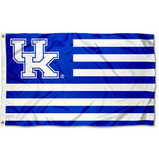 University of Kentucky Wildcats Stars and Stripes Nation USA Flag