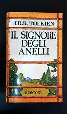 J.R.R. TOLKIEN - IL SIGNORE DEGLI ANELLI. Rusconi 1995. Perfetto.