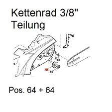 "Kettenrad 3/8"" Makita UC 3020 UC 3520 UC 4020 UC 3541 4041 A Elektro Kettensäge"