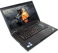 "Gaming laptop Lenovo ThinkPad 14.1"" 160GB Intel Core i5 2.4GHz 8GB Win 7 10 WiFi"
