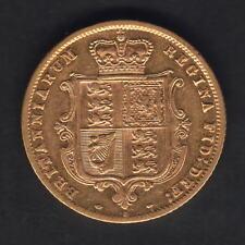 Australia. 1879 Sydney - Half Sovereign..  Much Lustre..  VF