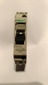 Schneider Electric GB2CB07 2A 1P Pole Thermal Magnetic Circuit Breaker