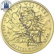 Goldene Euro-Gedenkmünzen aus Finnland