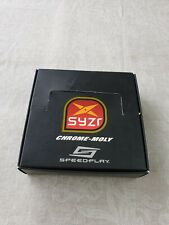 SPEEDPLAY SYZR™ Chrome-Moly composite steel MTB Pedals and Cleats (boxed new)