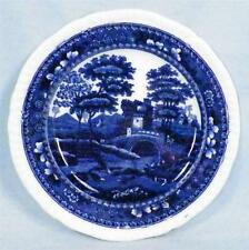 Copeland Spode Tower Bread & Butter Plate Small Blue Flow Old Mark A27 As Is