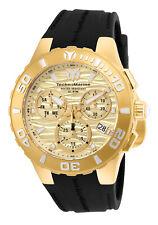 Technomarine Men's TM-115079 Medusa Gold & Gold Dial  44mm Swiss Watch