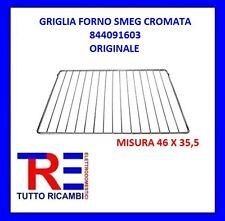 GRIGLIA FORNO SMEG CROMATA 844091603 MISURA 46 X 35,5 ORIGINALE