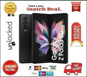 SAMSUNG GALAXY Z FOLD3 5G  256GB+12GB RAM DUAL SIM UNLOCKED BRAND NEW SEALED