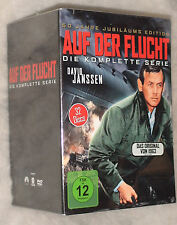 THE FUGITIVE (David Janssen) Serie Completa Stagioni 1,2, 3,4 DVD COFANETTO