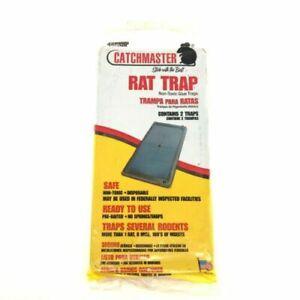 Large Size RAT & MOUSE  Glue Traps  Super Sticky Rat Snake Bugs Safe ~NO WAY OUT