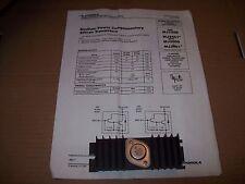 MOTOROLA MJ300 MEDIUM POWER SILICON TRANSISTOR WITH HEATSINK / SOCKET P1478