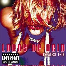 "Lords of Acid ""Greatest T*ts"" [PA] CD 2003 Sanctuary still sealed & unplayed NEW"