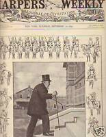 1899 Harper's Weekly September 16-Kruger in Transvaal