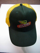 "DEKALB SEED HAT CAP -2/3RDS MESH, FRONT SOLID PANEL 'SUPPORTED"" FREE SHIPPING"
