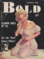 Vintage cheesecake -  pinup digest magazine #168 - JAN 1956 BOLD
