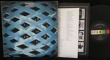 WHO, Tommy [black/rainbow label w/booklet] USA 1st press EXC- 2LP Pinball Wizard