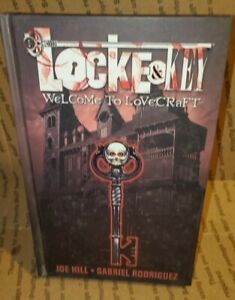 LOCKE & KEY HC VOL 1 WELCOME TO LOVECRAFT NETFLIX IDW COMICS NM New rare oop