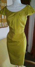scoop neck shift dress size 14 Sub-Couture pencil wiggle wedding evening formal