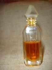 MINI Givenchy YSATIS Vintage Miniature Perfume Stopper Bottle Splash France