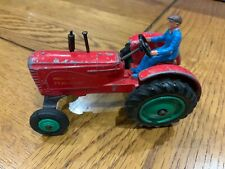 Dinky Toys 300 Massey Harris Tractor Very Rare Green Hubs
