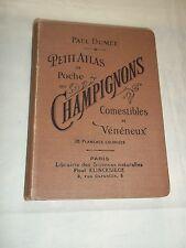 """""""PETIT ATLAS DES CHAMPIGNONS COMESTIBLES ET VENENEUX"""" (1902) DUMEE / MYCOLOGIE"""