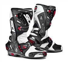 SIDI RACING VORTICE AIR STIVALI BOOTS BIANCO-NERO WHITE-BLACK TAGLIA-SIZE 39-48