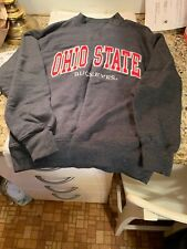 Ohio State Buckeyes Sweatshirt Size S Embroidered Applique Logo Unisex Brutus