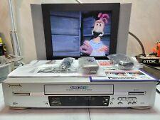 VIDEOREGISTRATORE VHS (SQPB) PANASONIC NV-FJ620 6 HEAD NUOVO RIMANENZA MAGAZZINO