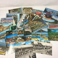 LOT OF 70+ Chrome Postcards USA and Foreign Color & BW Mostly Unused