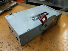 GE 60 AMP 600 VOLT 3 PHASE safety switch DISCONNECT