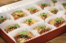 Greek Handmade Sweet Dessert chocolate Baklava made with walnuts and almond 1.4