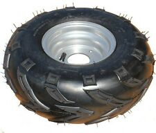 ATV 145/70-6 Wheel / Tire (Tractor style tread)  3-bolt mount (LEFT SIDE)