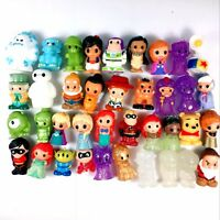 Random 10Pcs Ooshies Disney Princess Monster collect figure cute doll toys  TTUS