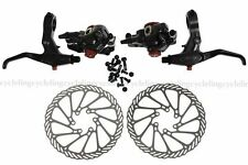 AVID BB7 Front & Rear Calipers Mountain Brakes 160mm G3 Rotors FR7 Lever