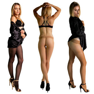 Cecilia de Rafael Miss 20 No Gusset Seamless Nylons Pantyhose Tights Hosiery