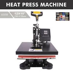CRENEX  25x30cm 900W Heat Press Machine Sublimation Printer Digital Transfer