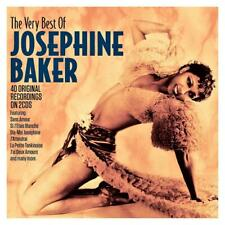 JOSEPHINE BAKER - THE VERY BEST OF - 40 ORIGINAL RECORDINGS (NEW 2CD Digipak)