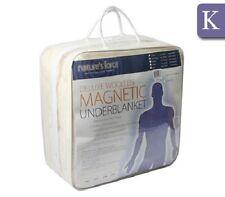 NEW King Bed Size Underblanket - Woolen Magnetic 100% Australian Wool Fleece