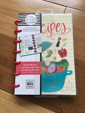 BRAND NEW MAMBI Happy Planner Mini Recipe Organizer-Space For 160 Recipes!