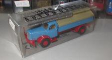 Brekina 73308 Henschel HS 140 Spitzplane blau _  H3291