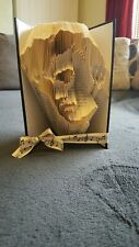 Folded Book Art. Elvis Presley Singer Performer gift present