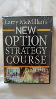 Factory Sealed - Lawrence McMillan New Option Strategy Course DVD Trading System