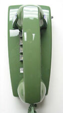 Moss Green Western Electric 2554 TouchTone Wall Telephone - Full Restoration