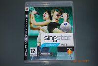 Singstar Vol 3 PS3 Playstation 3 **FREE UK POSTAGE**