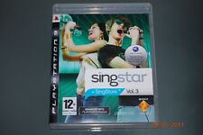 Singstar Vol 3 PS3 Playstation 3 **FREE UK POSTAGE**