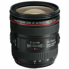 Obiettivi Canon Canon EF Lunghezza focale 24-70 mm per fotografia e video